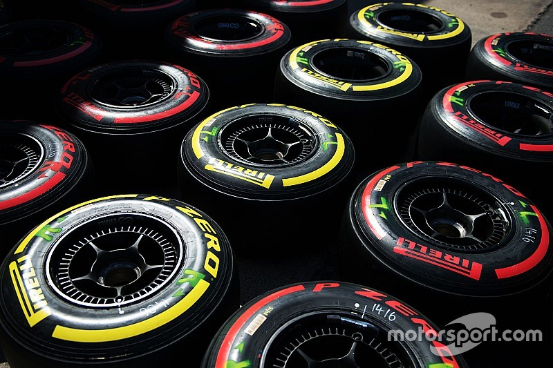 Pirelli announces F1 tyre choices for Russian GP