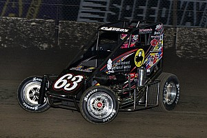 Midget Race report Clauson wins final Chili Bowl qualifier, Kasey Kahne locks himself in