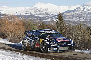 WRC Leg report Monte Carlo WRC: Ogier takes lead, Kubica and Paddon crash out