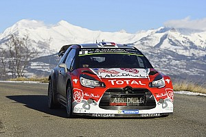 WRC Stage report Kris Meeke lights up the Rallye Monte-Carlo!
