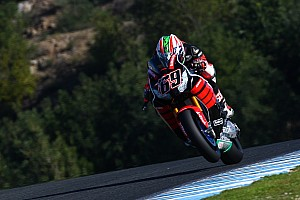"World Superbike Breaking news Hayden says ""still room for improvement"" after Jerez test"
