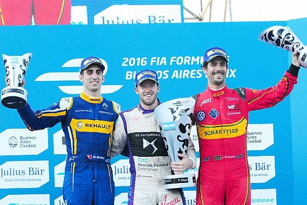 Fórmula E Relato da corrida Bird segura Buemi e vence em Buenos Aires; di Grassi é 3º