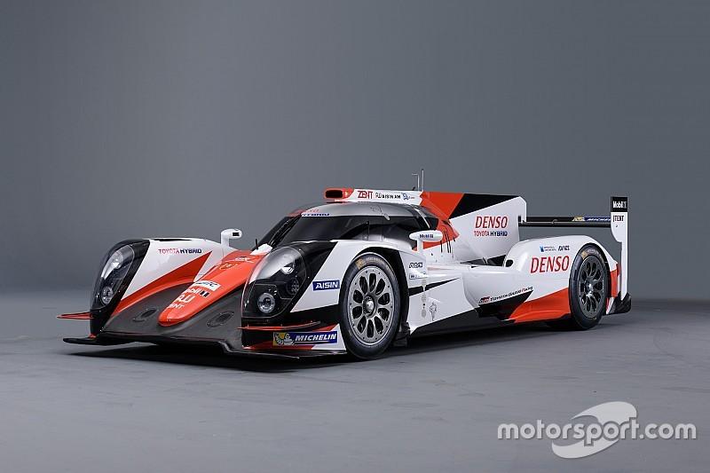 全新丰田LMP1赛车涂装亮相