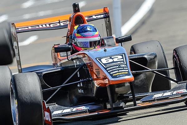 Other open wheel Relato da corrida Habsburg vence primeira prova em Manfeild; Piquet abandona