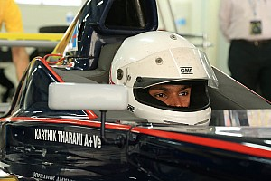 Other open wheel Interview Tharani eyes future in F4 and touring cars