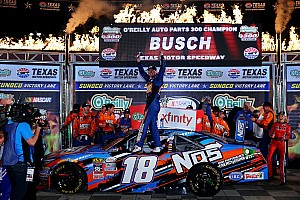 NASCAR Xfinity Rennbericht Kyle Busch fährt 80. Xfinity-Sieg ein