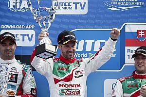 WTCC レースレポート WTCCスロバキア:ホンダのモンテイロが43ポイント荒稼ぎ。選手権トップに