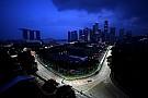 Гран При Сингапура: вторая тренировка