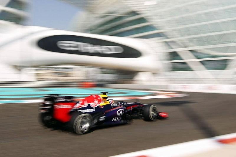 Гран При Абу-Даби: вторая тренировка