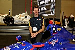 IndyCar Interview Q&A with IndyCar's newest rookie Matt Brabham