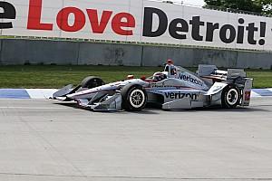 IndyCar Yarış raporu Detroit IndyCar : Kazanan Power, Penske 1-2
