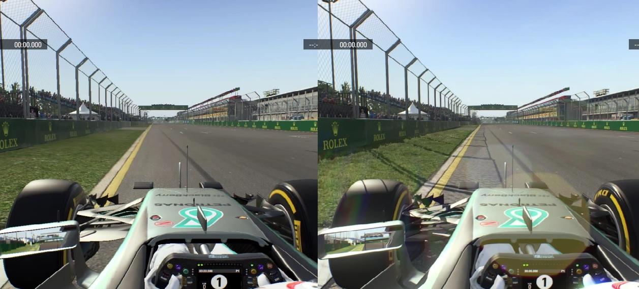 F1 2015: Ilyen ultra magas és ultra alacsony grafikai beállításokkal a játék