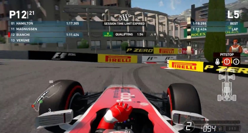 F1 2014: ForzaJules!