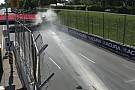 Indy Lights Ilyen csúnyán tud kinézni egy ráfutásos baleset: eszméletlen csattanás az Indy Lightsban