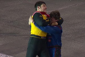 NASCAR Truck Breaking news Gallagher issues apology for fight
