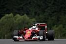Formel 1 in Spielberg: Sebastian Vettel Schnellster im dritten Training, Crash von Nico Rosberg