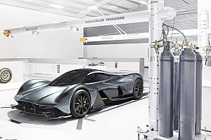 Автомобили Новость Компания Aston Martin показала гиперкар Ньюи