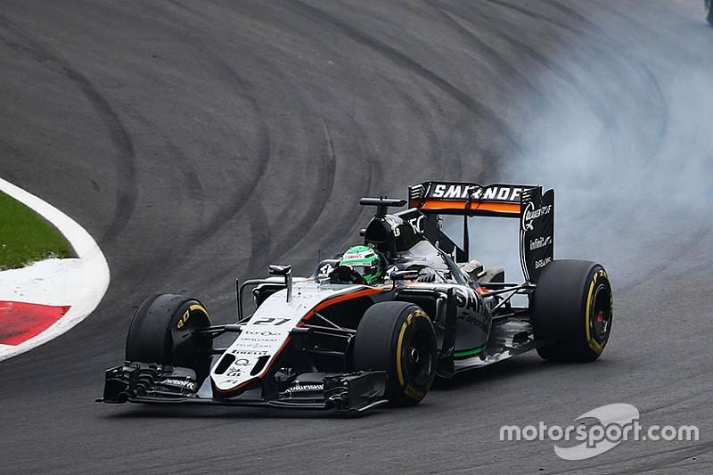 Force India ne comprend pas les problèmes de Hülkenberg en Autriche