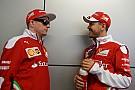 ベッテル「ライコネン続投を決めたフェラーリの判断は正しい」