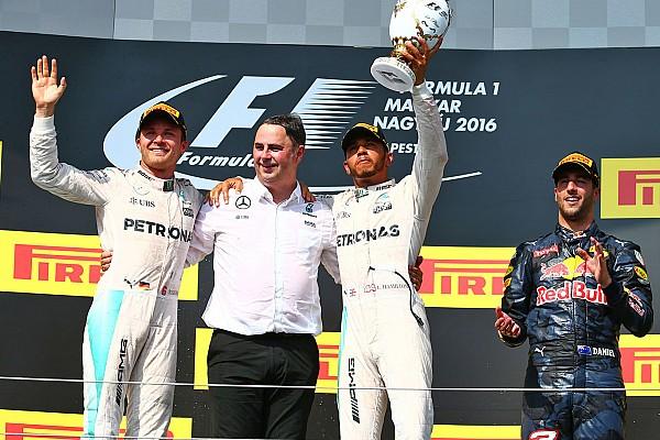 Formule 1 Résumé de course Mercedes gagne en Hongrie, sur un tracé