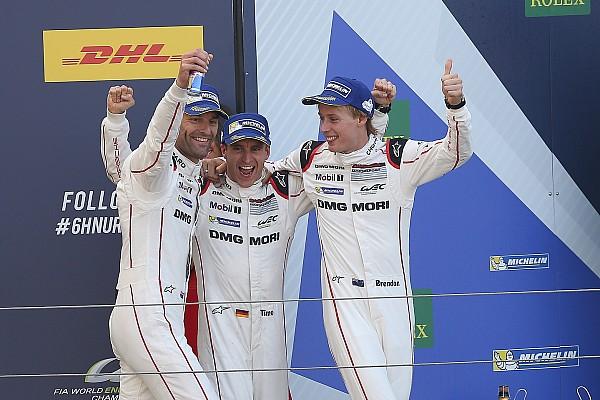 WEC Résumé de course Une victoire au goût de revanche pour Webber, Bernhard et Hartley