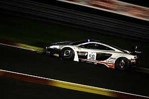 Blancpain Endurance Kwalificatieverslag 24 uur Spa: Snelste avondtijd voor McLaren