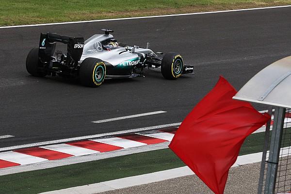 Formule 1 Actualités La FIA utilisera le drapeau rouge pour éviter les polémiques