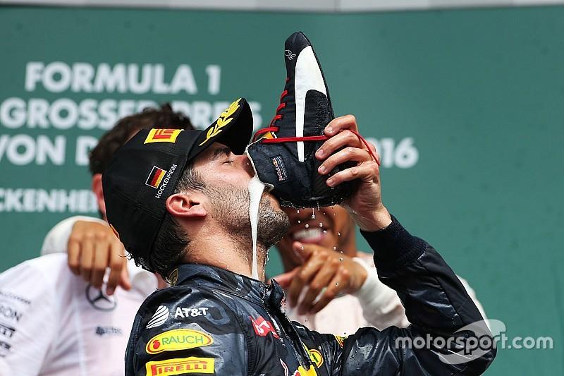 """里卡多首次当选F1""""当日最佳车手"""""""