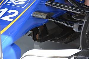 Teknik Güncelleme: Sauber dönüş kanatçıkları ve arka kanat