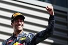 Dank Roter Flagge: Ricciardos Serie an Podestplätzen geht weiter