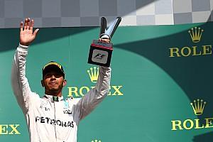 Формула 1 Новость Хэмилтон признан лучшим гонщиком Гран При Бельгии