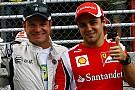 Compare números de Massa e Barrichello na Fórmula 1