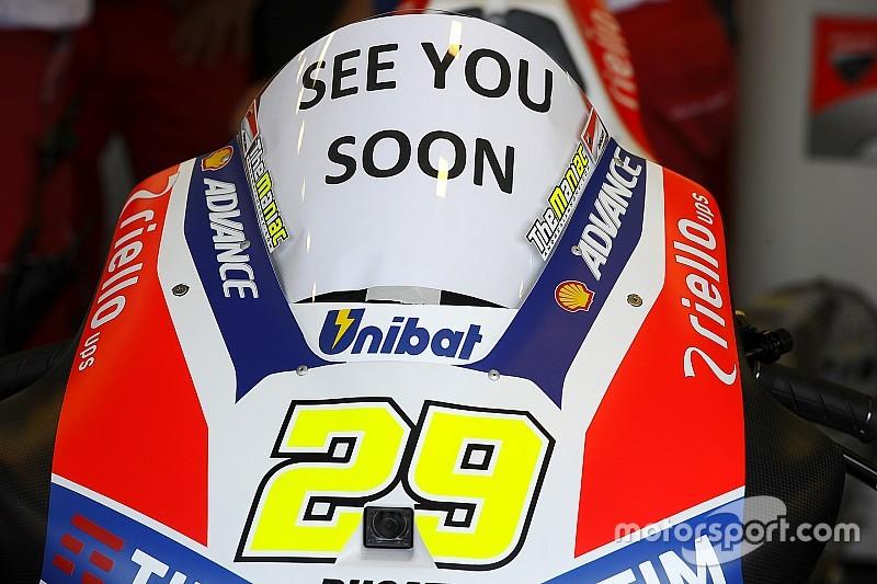 MotoGP-Rennarzt: Es gibt keinen medizinischen Grund, Iannone nicht fahren zu lassen.