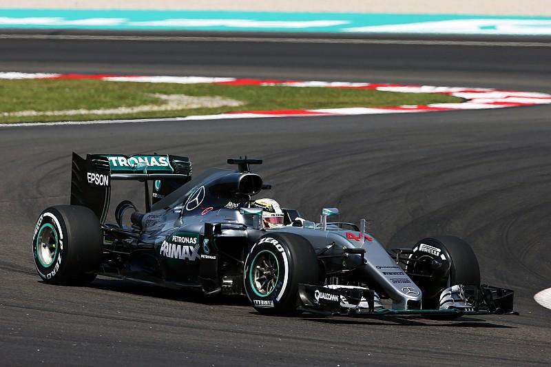 马来西亚大奖赛FP2:梅赛德斯延续统治,法拉利缩小差距