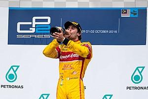 GP2 Reporte de la carrera Giovinazzi toma el liderato de la GP2