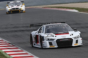 Blancpain Sprint Kwalificatieverslag Blancpain Barcelona - Perera zet Audi op pole, Frijns derde