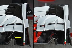 Ferrari: due soluzioni di ala anteriore per la SF16-H