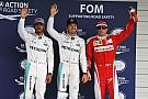 日本GP予選:メルセデスがフロントロウを占める。ハミルトンは0.013秒差で2番グリッド