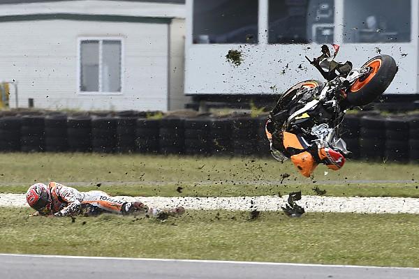MotoGP Últimas notícias Márquez reconhece excesso de confiança em queda na Austrália
