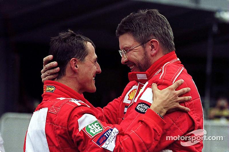 【F1】ロス・ブラウン「シューマッハーには心強い兆候がある」