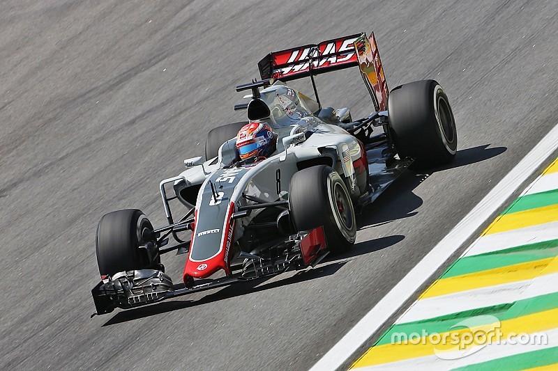 """【F1ブラジルGP】グロージャン、Q3進出は""""予想外""""。「コンディションが味方した」"""