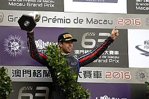 Formule 3 Réactions Félix da Costa, vainqueur à Macao -