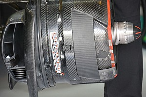 Tech update: McLaren experimenteert verder met de brake duct
