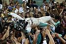Formel-1-Weltmeister 2016: So feiert Nico Rosberg