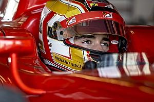 GP3 Test Charles Leclerc ha iniziato lo sviluppo del DRS per la GP3