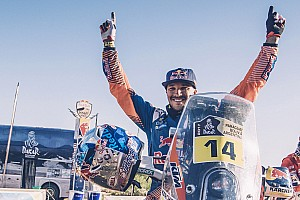 Dakar Nieuws Sunderland 'huilde als een watje' na behalen Dakar-overwinning