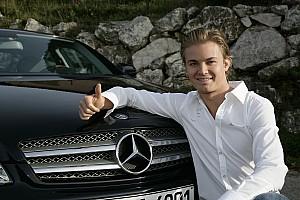 F1-Weltmeister Nico Rosberg wird Botschafter des Mercedes-Teams