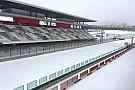 Формула 1 Все на лыжи. Гоночные трассы засыпало снегом