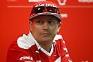 Formule 1 Raikkonen in Finland benoemd tot ambassadeur voor de sport