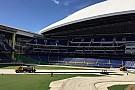 Geral VÍDEO: Estádio de beisebol se transforma em pista de corrida